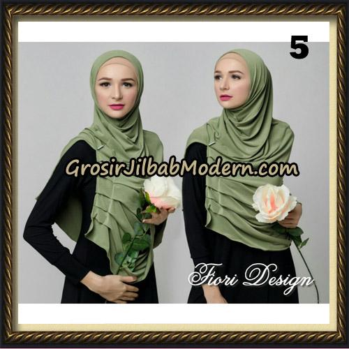 Jilbab Instant Cantik Syria Alla Original by Fiori Design No 5