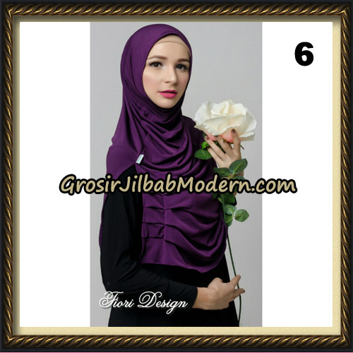 Jilbab Instant Cantik Syria Alla Original by Fiori Design No 6