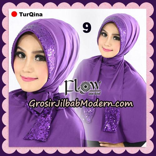Jilbab Instant Cantik TurQina Original By Flow Idea NO 9