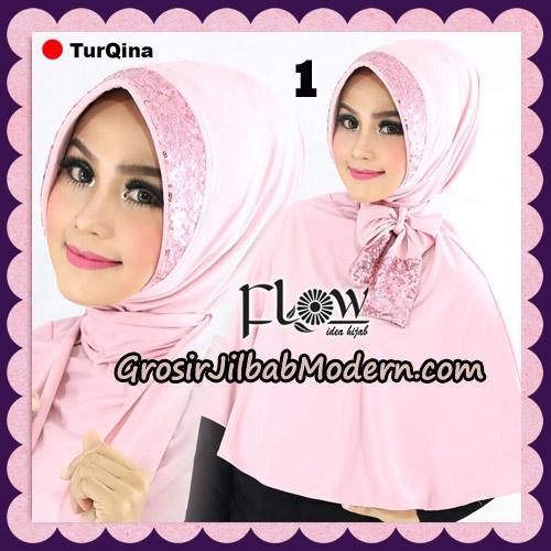 Jilbab Instant Cantik TurQina Original By Flow Idea No 1