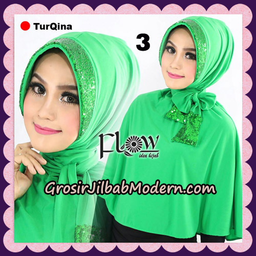 Jilbab Instant Cantik TurQina Original By Flow Idea No 3