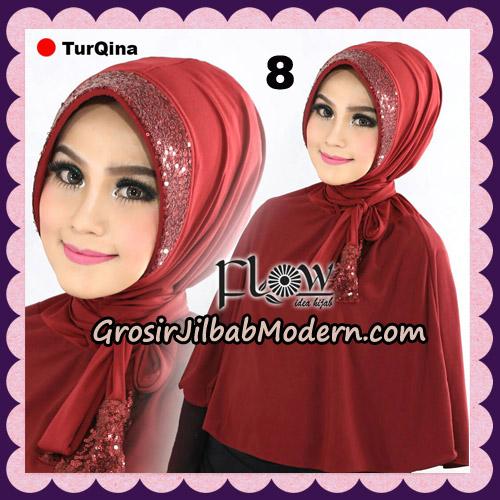 Jilbab Instant Cantik TurQina Original By Flow Idea No 8