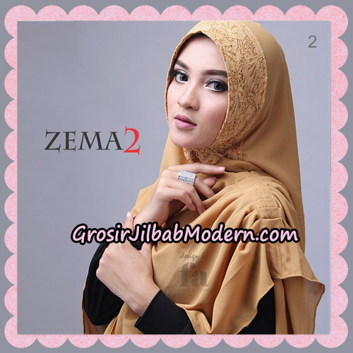 Jilbab Instant Khimar Zema Seri 2 By Fa Hijab Brand No 2