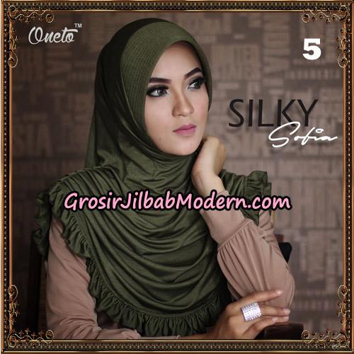 Jilbab Instant Sofia Silky Original By Oneto Hijab Brand No 5