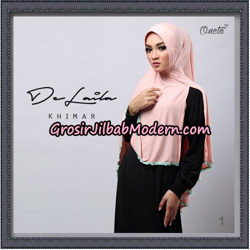 Jilbab Khimar DeLaila Original By Oneto Hijab Brand No 1