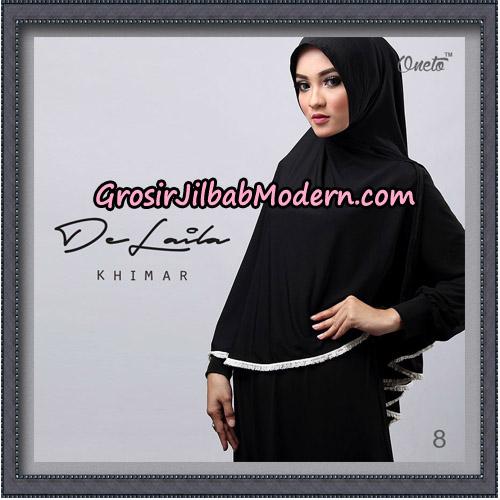 Jilbab Khimar DeLaila Original By Oneto Hijab Brand No 8
