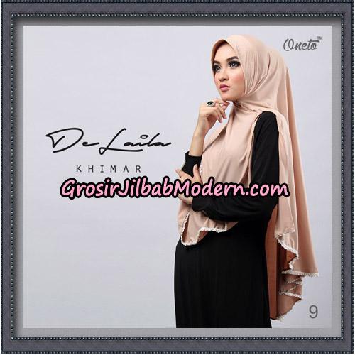 Jilbab Khimar DeLaila Original By Oneto Hijab Brand No 9