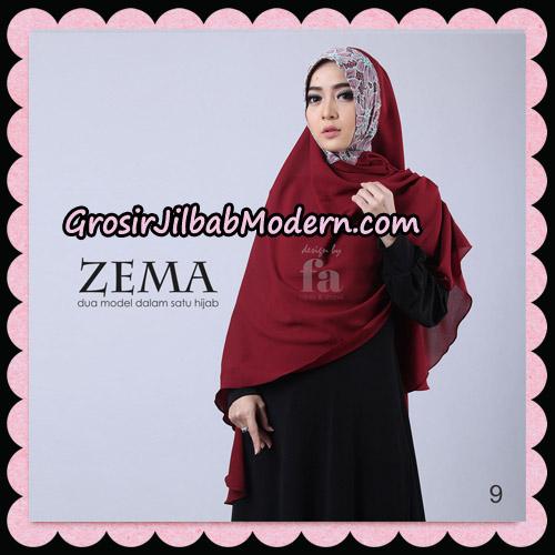 Jilbab Khimar Zema By Fa Hijab Support Oneto Hijab No 9