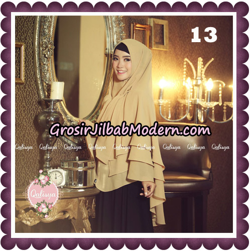 Jilbab Syari Modern Khimar Uzma Original by Qalisya Hijab Brand No 13