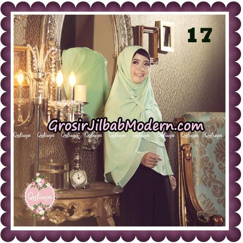 Jilbab Syari Modern Khimar Uzma Original by Qalisya Hijab Brand No 17