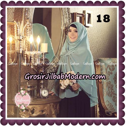 Jilbab Syari Modern Khimar Uzma Original by Qalisya Hijab Brand No 18