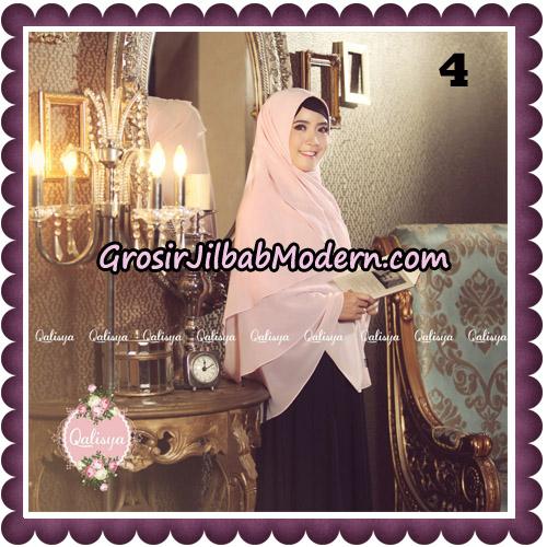 Jilbab Syari Modern Khimar Uzma Original by Qalisya Hijab Brand No 4