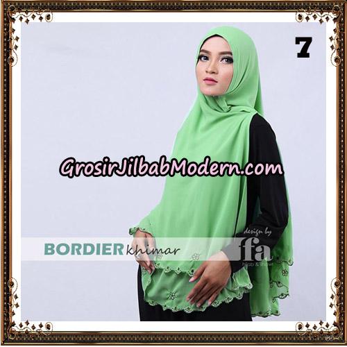 Jilbab Cantik Bordier Khimar Original By Fa Hijab Brand No 7