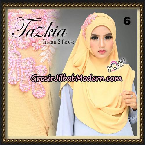 Jilbab Cantik Instan 2 Face Tazkia Original By dQiara Hijab Brand NO 6