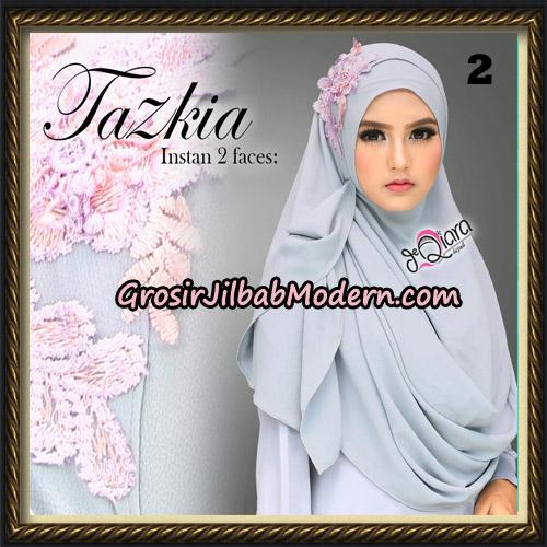 Jilbab Cantik Instan 2 Face Tazkia Original By dQiara Hijab Brand No 2