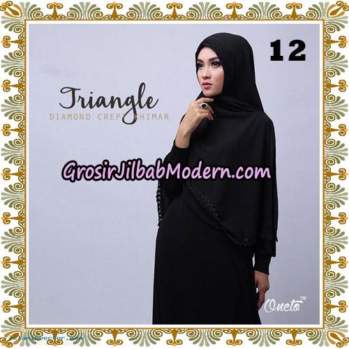 Jilbab Cantik Khimar Lipit Triangle Original By Oneto Hijab Brand No 12