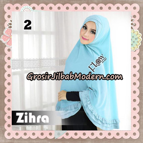 Jilbab Cantik Khimar Silang Zihra Original By Flow Idea No 2