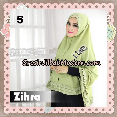 Jilbab Cantik Khimar Silang Zihra Original By Flow Idea No 5