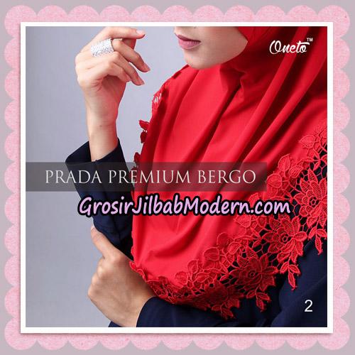 Jilbab Cantik Prada Premium Bergo Original By Oneto Hijab Brand No 2
