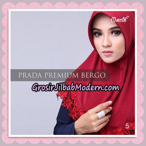 Jilbab Cantik Prada Premium Bergo Original By Oneto Hijab Brand No 5