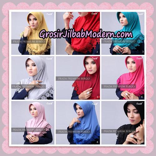 Jilbab Cantik Prada Premium Bergo Original By Oneto Hijab Brand