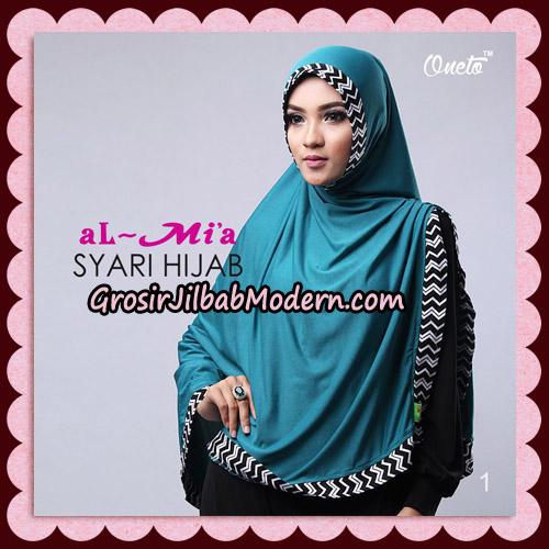 Jilbab Cantik Syari Hijab Original By AlMia Brand No 1