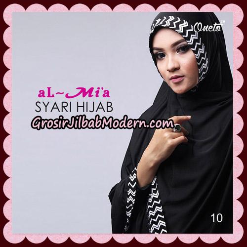 Jilbab Cantik Syari Hijab Original By AlMia Brand No 10