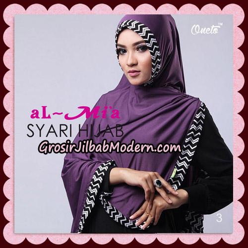 Jilbab Cantik Syari Hijab Original By AlMia Brand No 3