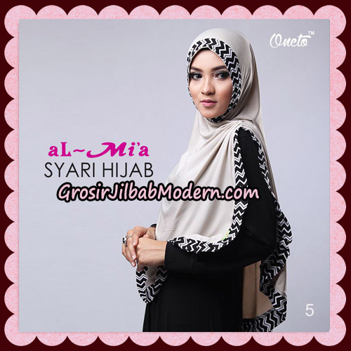 Jilbab Cantik Syari Hijab Original By AlMia Brand No 5