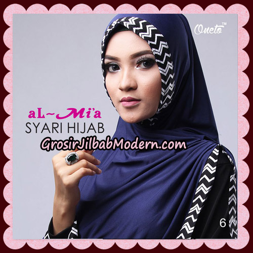 Jilbab Cantik Syari Hijab Original By AlMia Brand No 6