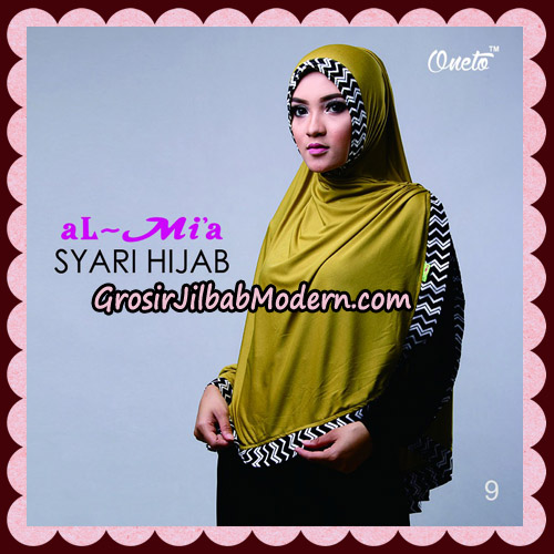 Jilbab Cantik Syari Hijab Original By AlMia Brand No 9