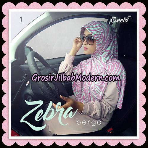 Jilbab Harian Zebra Bergo Original By Oneto Hijab Brand No 1