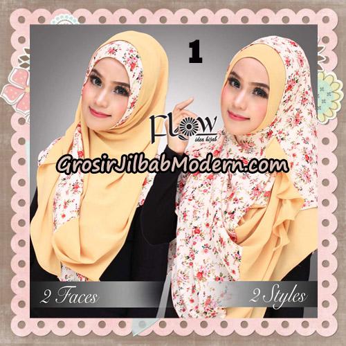 Jilbab Instant 2 Face & 2 Styles Flowly Original By Flow Idea No 1