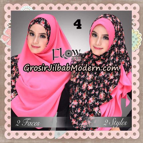 Jilbab Instant 2 Face & 2 Styles Flowly Original By Flow Idea No 4