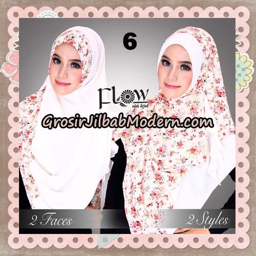 Jilbab Instant 2 Face & 2 Styles Flowly Original By Flow Idea No 6