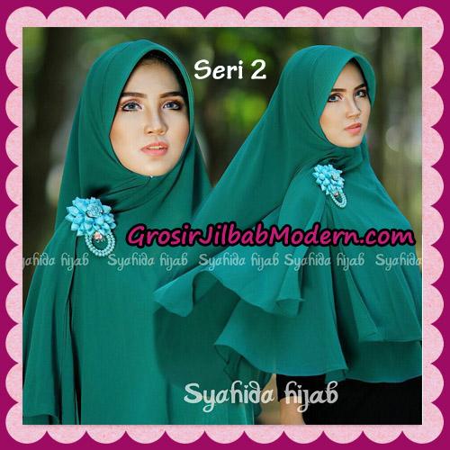 Jilbab Khimar Atika Pet Seri 2 Original By Syahida Hijab Brand No 10