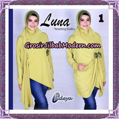 Jilbab Lengan Tunik Luna Original By Fadeya Brand No 1