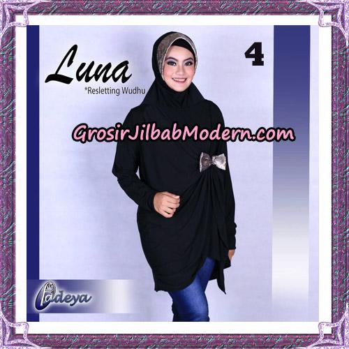 Jilbab Lengan Tunik Luna Original By Fadeya Brand No 4