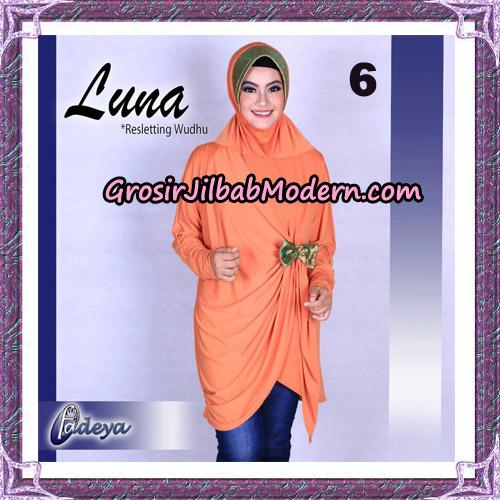Jilbab Lengan Tunik Luna Original By Fadeya Brand No 6