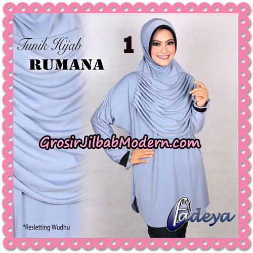 Jilbab Lengan Tunik Rumana Original By Fadeya Brand No 1