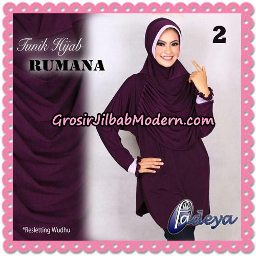 Jilbab Lengan Tunik Rumana Original By Fadeya Brand No 2