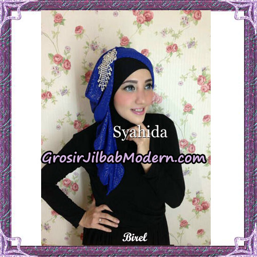Turban Pesta Instant Sufya Original By Syahida Hijab Brand - Birel