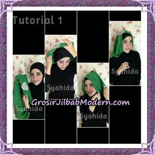 Turban Pesta Instant Sufya Original By Syahida Hijab Brand - Tutorial 1