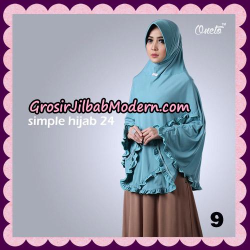 Jilbab Bergo Simple Hijab Seri 24 Original By Firza Hijab Brand NO 9