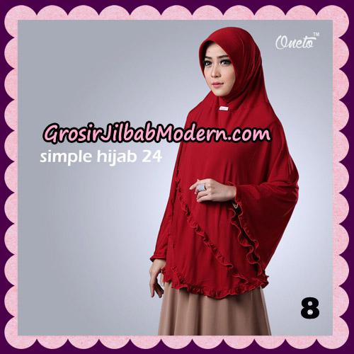 Jilbab Bergo Simple Hijab Seri 24 Original By Firza Hijab Brand No 8
