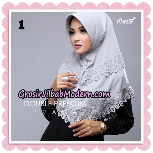 Jilbab Cantik Double Premium Prada Bergo Original By Oneto Hijab Brand No 1