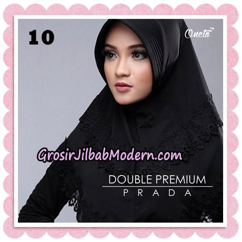 Jilbab Cantik Double Premium Prada Bergo Original By Oneto Hijab Brand No 10