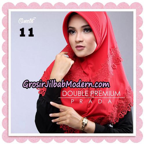 Jilbab Cantik Double Premium Prada Bergo Original By Oneto Hijab Brand No 11