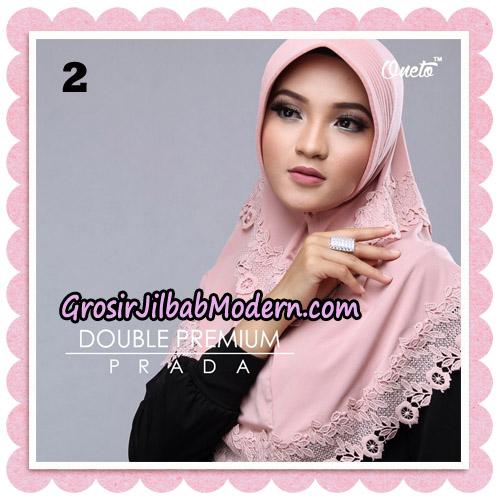 Jilbab Cantik Double Premium Prada Bergo Original By Oneto Hijab Brand No 2