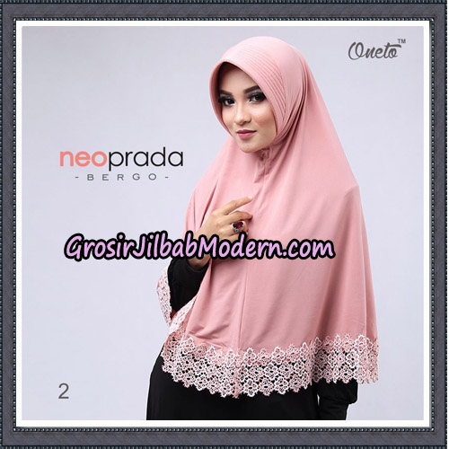 Jilbab Cantik NeoPrada Bergo Original By Oneto Hijab Brand No 2